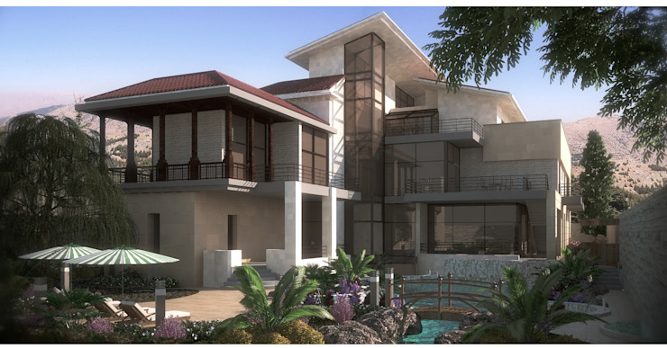Day Shot Modern Houses by SPACES Architects Planners Engineers Modern