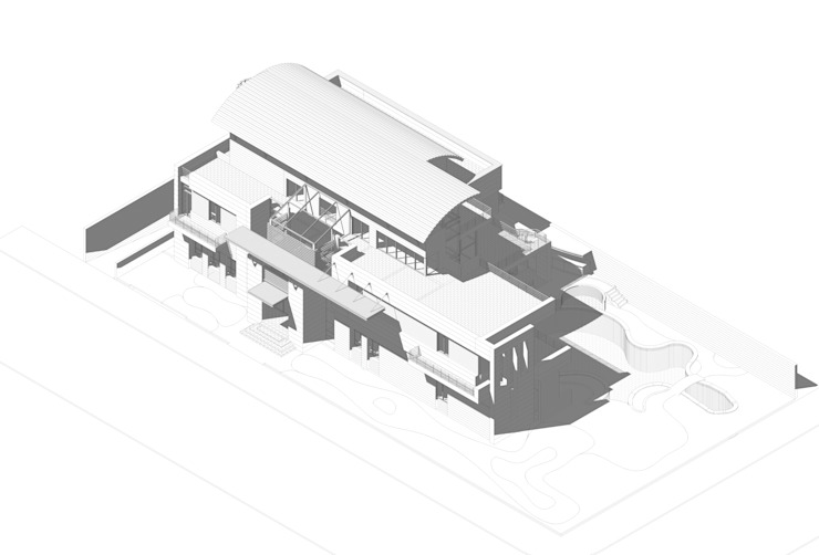 Isometric Modern Houses by SPACES Architects Planners Engineers Modern