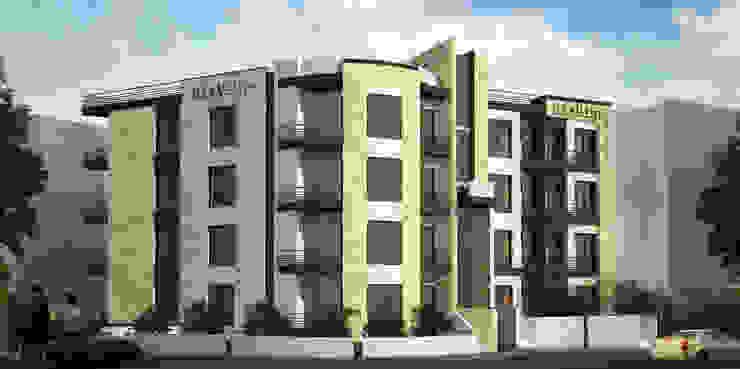 Jarwan Residentail Building - Amman , Jordan Modern Houses by SPACES Architects Planners Engineers Modern