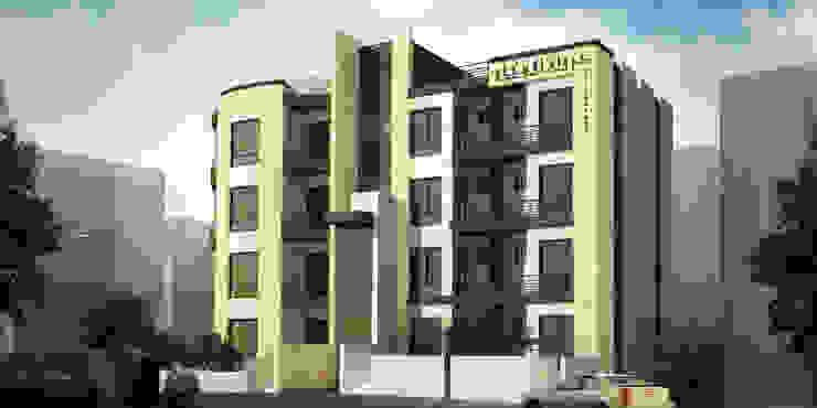 Jarwan Residentail Building—Amman , Jordan Modern Houses by SPACES Architects Planners Engineers Modern
