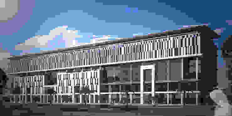 Almurjan Hospital - Jeddah, KSA by SPACES Architects Planners Engineers Modern