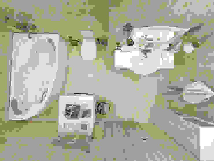 Baños de estilo  por Студия интерьера 'IDEAL DESIGN',