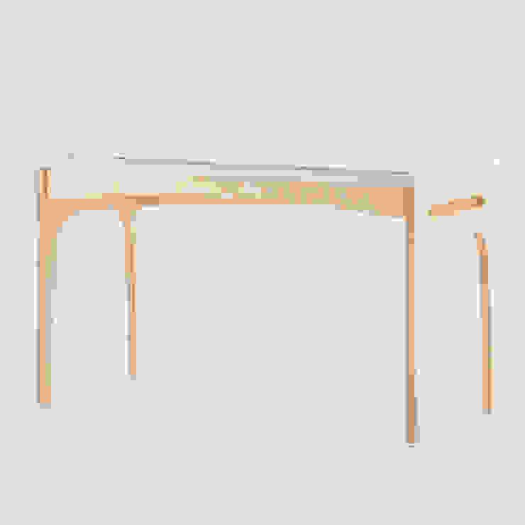走走工作桌: 現代  by GOOZOO DESIGN LTD., 現代風