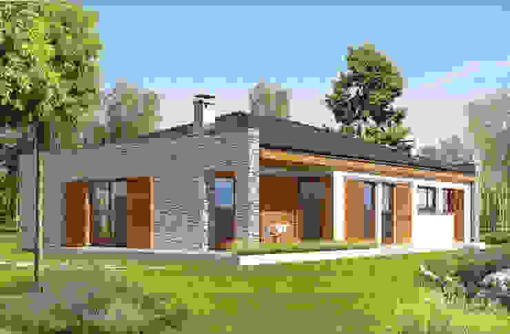 by FHS Casas Prefabricadas Modern Aluminium/Zinc