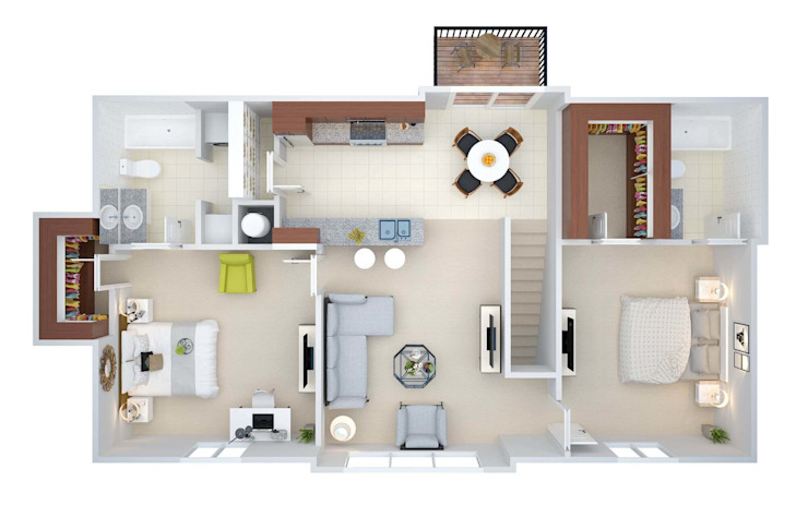 por Floor Plan For Real Estate