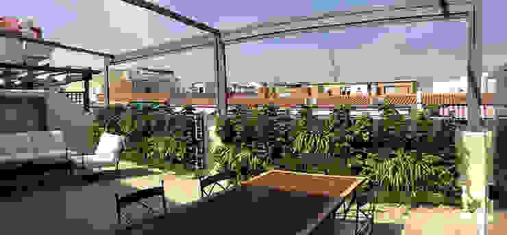 Terraza ático En Madrid De Triste Y Aburrida A Llena De