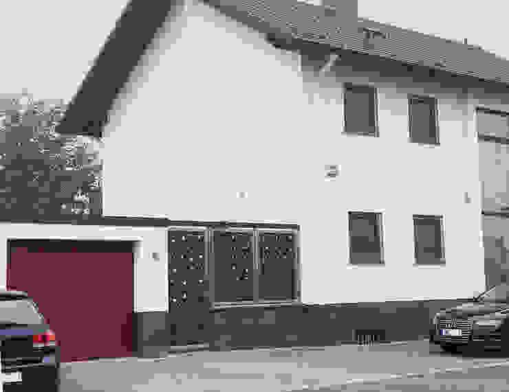 Sicherheit Eingangstür von Edelstahl Atelier Crouse: Modern Metall
