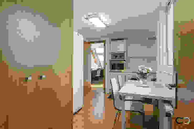 CCVO Design and Staging ห้องครัว White