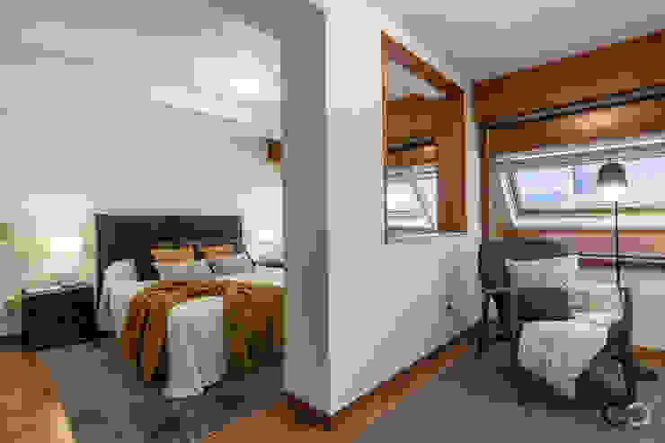 Camera da letto moderna di CCVO Design and Staging Moderno