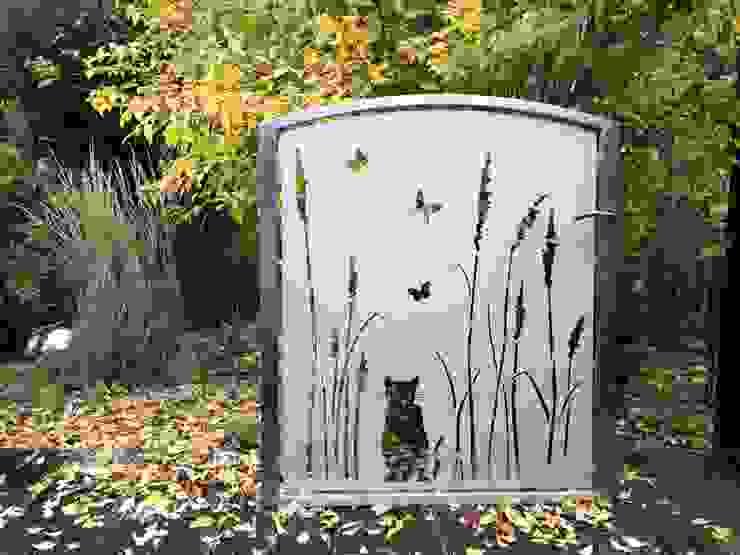 """Cat Gate"" von Edelstahl Atelier Crouse: Modern Metall"