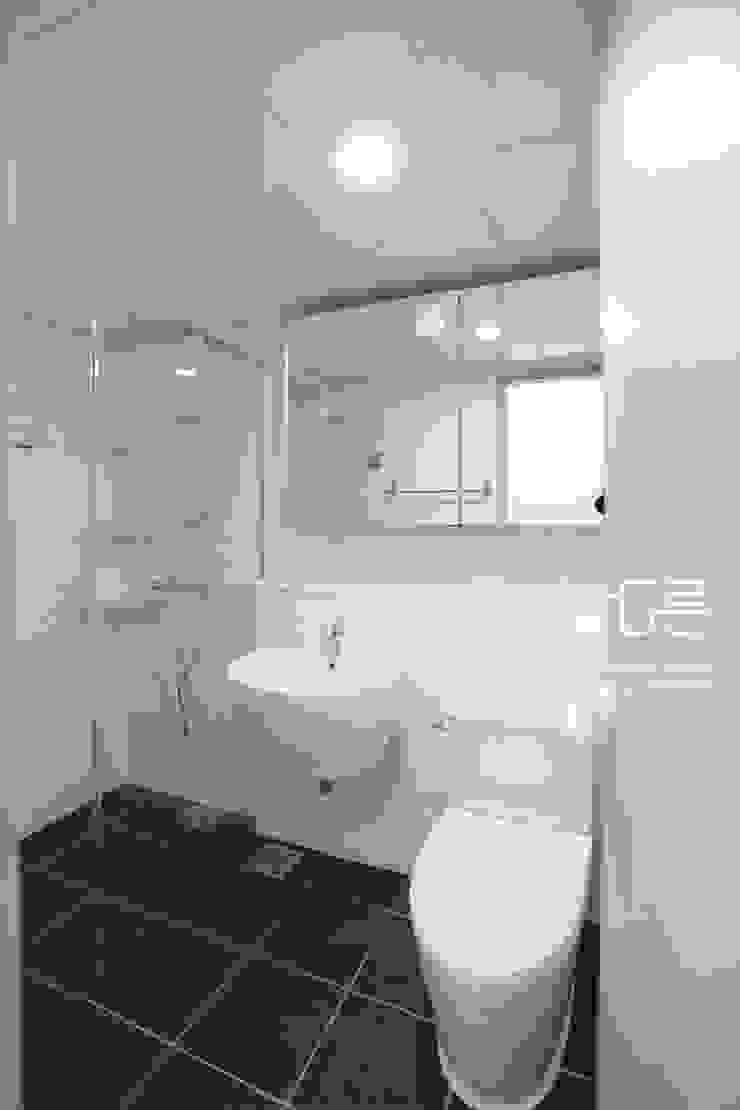 대구 북구 칠성휴먼시아 34평형 모던스타일 욕실 by 남다른디자인 모던