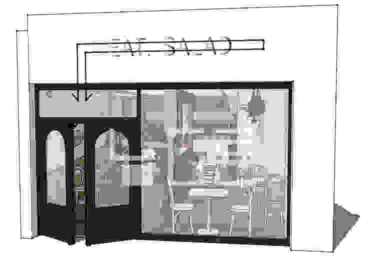 잇 샐러드 (EAT SALAD): 남다른디자인의 현대 ,모던