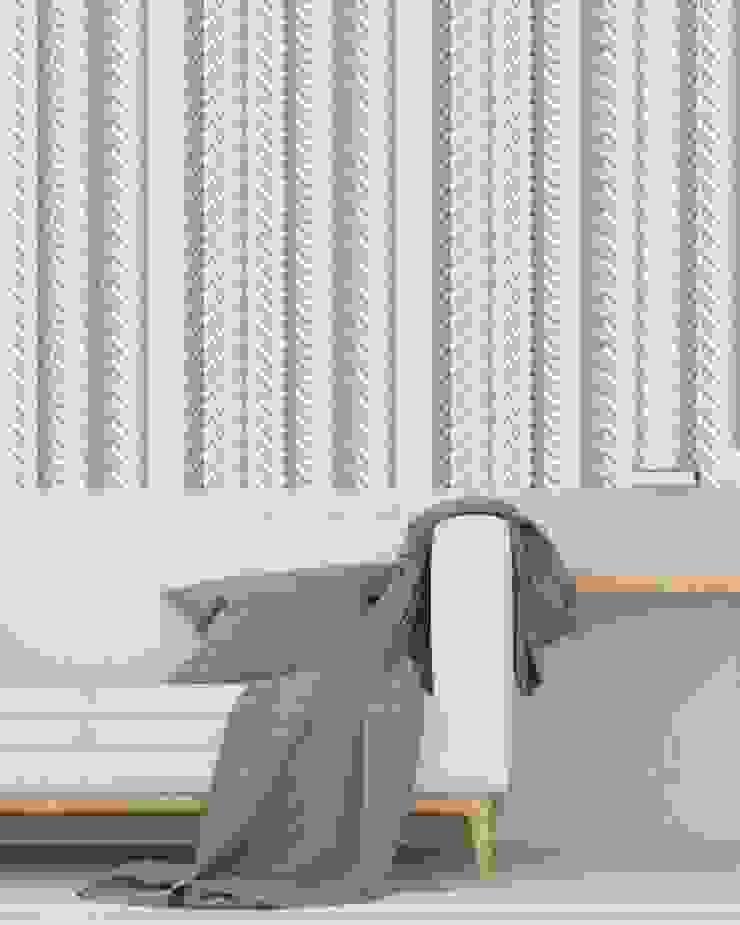 Housed - Wallpapers 牆壁與地板壁紙 天然纖維 Grey