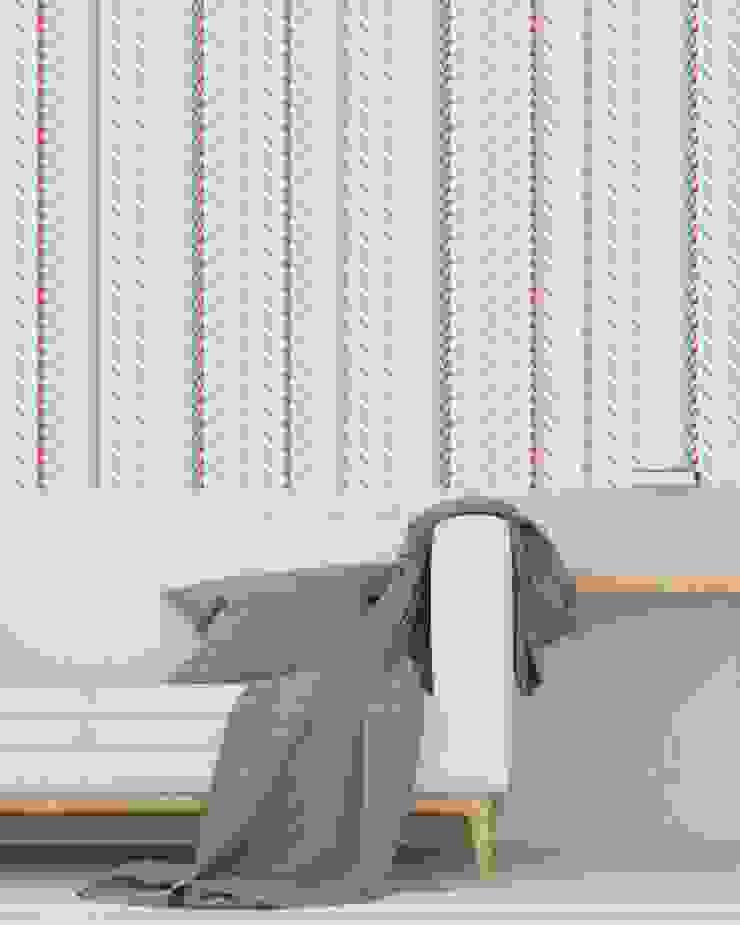 Housed - Wallpapers 牆壁與地板壁紙 天然纖維 Blue