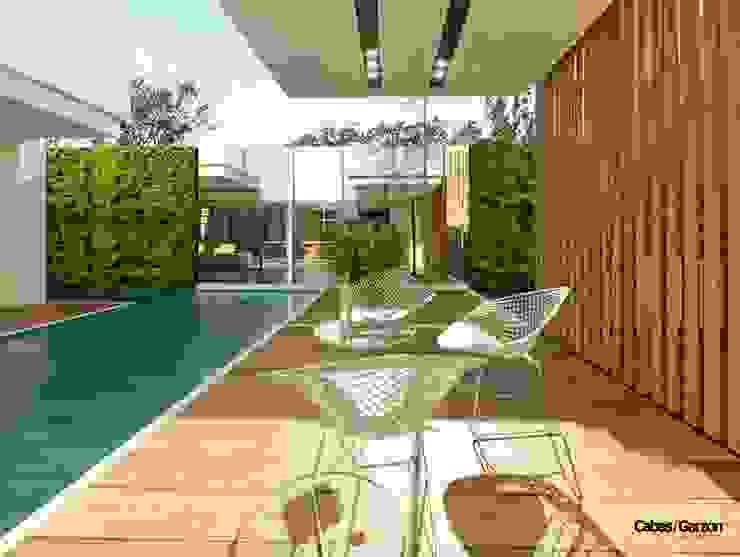 de Cabas/Garzon Arquitectos Moderno