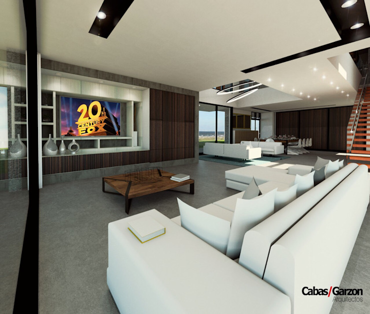 Casas Campestres de Cabas/Garzon Arquitectos Moderno