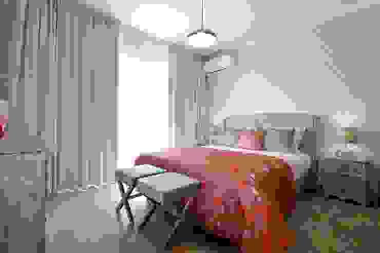 casa Algarve-ZEN Attitude Quartos ecléticos por Atelier Ana Leonor Rocha Eclético