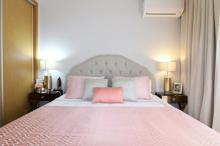 Casa Algarve -Romantic CHIC Atelier Ana Leonor Rocha Quartos ecléticos