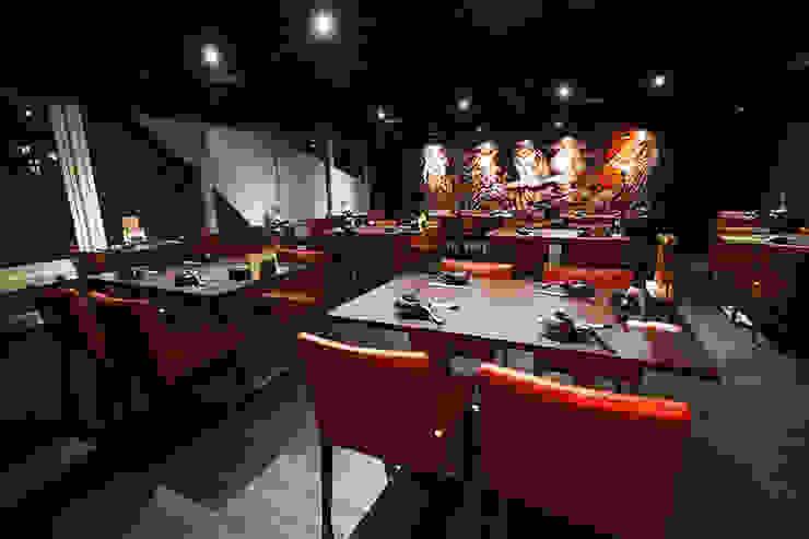 日式料理-商業空間 根據 天埕設計 工業風 塑膠
