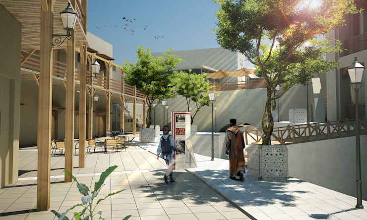 Fez Urban Design - Fez, Morocco Modern Houses by SPACES Architects Planners Engineers Modern