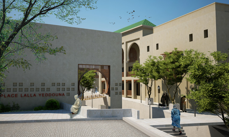 Fez Urban Design—Fez, Morocco Modern Houses by SPACES Architects Planners Engineers Modern