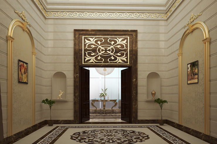 Palace Classic style corridor, hallway and stairs by SPACES Architects Planners Engineers Classic