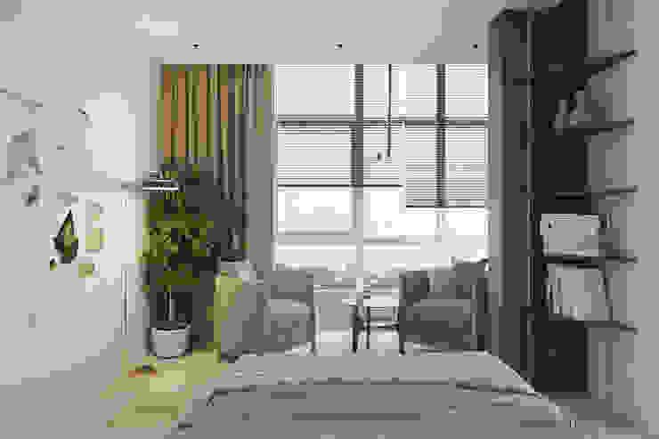 Tobi Architects Phòng ngủ phong cách tối giản