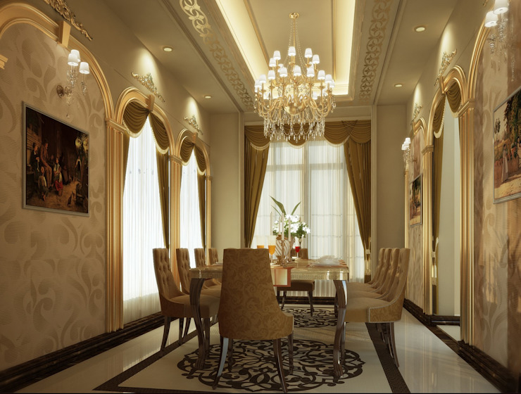 Villa Classic style dining room by SPACES Architects Planners Engineers Classic