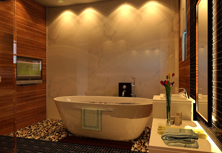 Villa Classic style bathroom by SPACES Architects Planners Engineers Classic