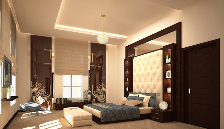 Villa Classic style bedroom by SPACES Architects Planners Engineers Classic