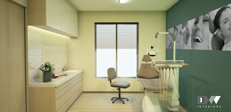 Dental Room 2 by DW Interiors Modern Wood Wood effect
