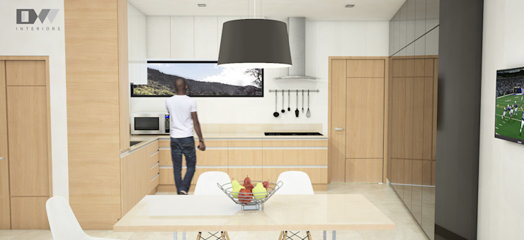 Kitchen Area by DW Interiors Minimalist