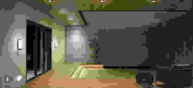 Outdoor Deck Modern Terrace by DW Interiors Modern Tiles