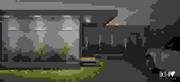 Exterior Facade by DW Interiors Modern Tiles