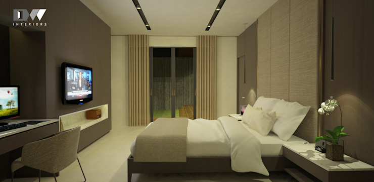 Bedroom Design Modern Bedroom by DW Interiors Modern Wood Wood effect