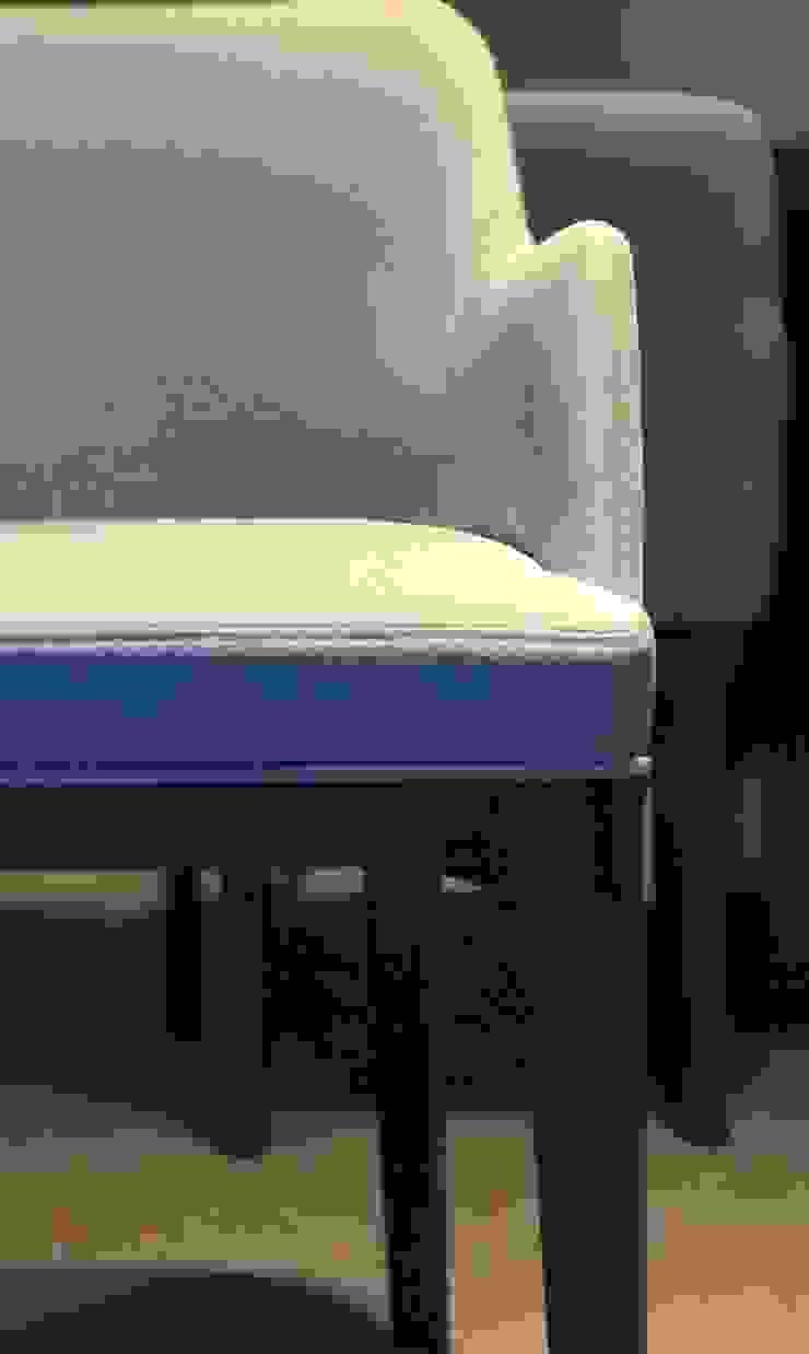 Dining Chair design: modern  by DW Interiors, Modern Flax/Linen Pink