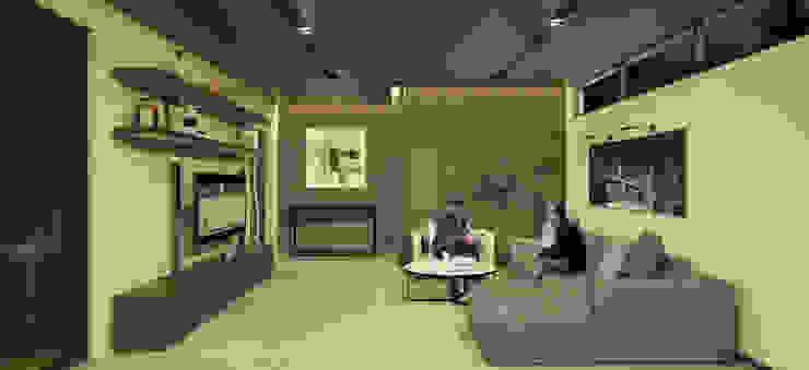 Living Room Modern Living Room by DW Interiors Modern Wood Wood effect