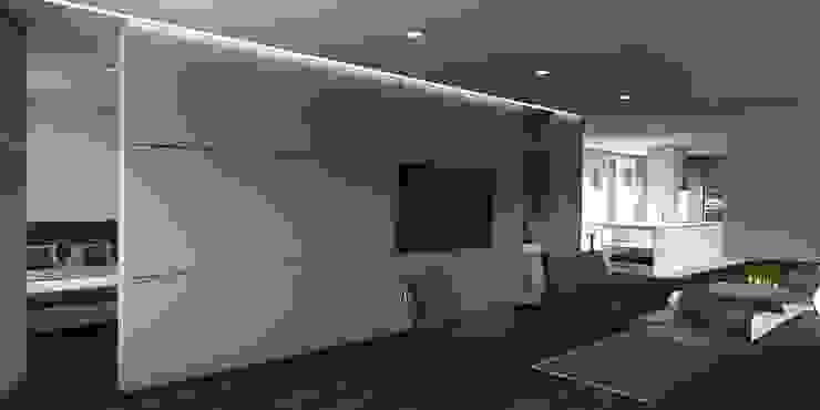 Apartamento en el centro de Sevilla. Interiorismo Conceptual estudio Dormitorios de estilo moderno