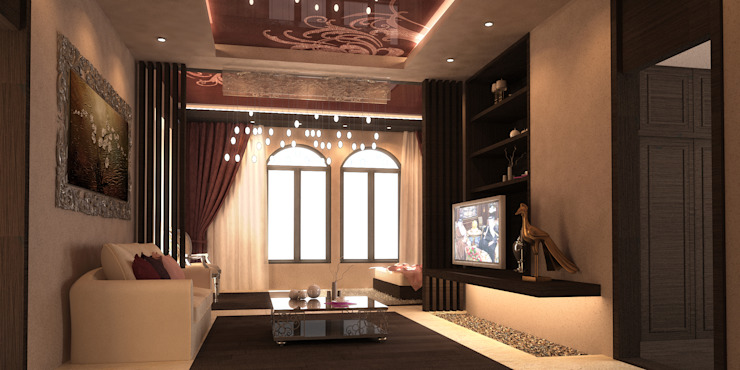 Master Bedroom by SPACES Architects Planners Engineers Mediterranean