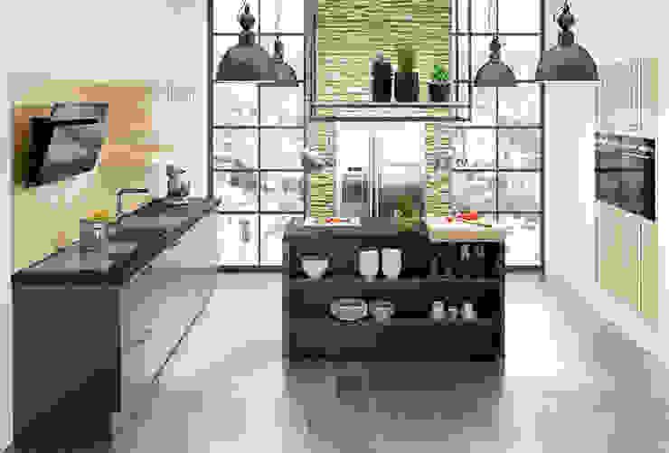 Premium Siemens Marquardt Küchen Küchenzeile Granit Schwarz