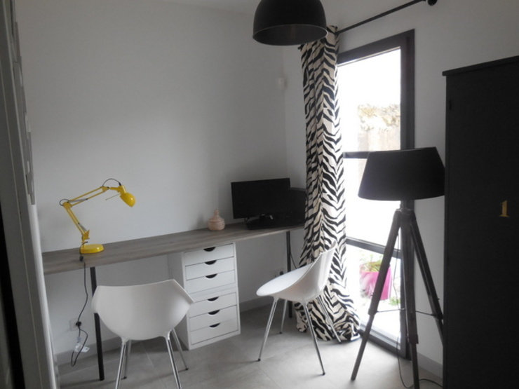 Oficinas de estilo moderno de Scènes d'Intérieur Moderno