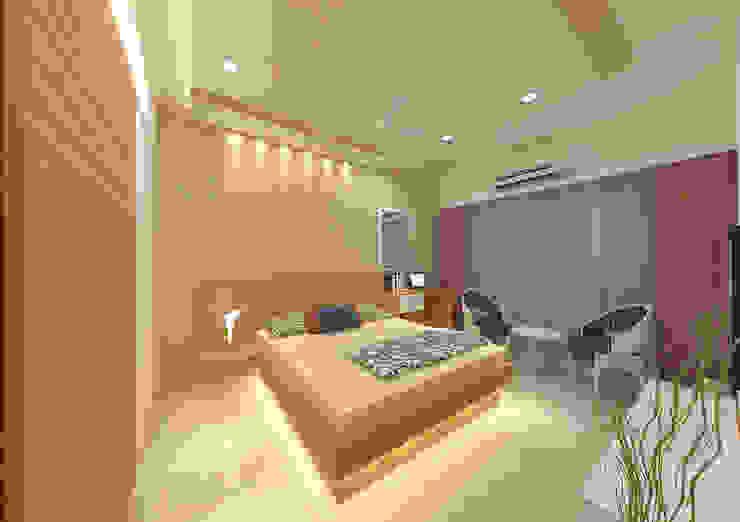 Dormitorios asiáticos de homify Asiático
