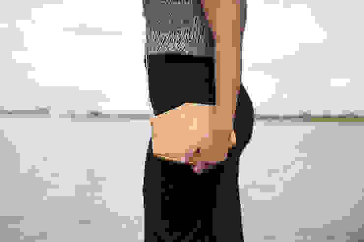 Eco leather bags van Anna Treurniet Scandinavisch Leer Grijs