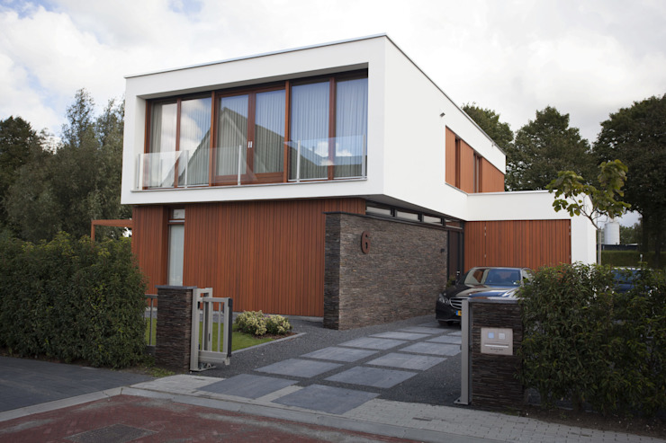 Thijssen Verheijden Architecture & Management Villas Wood White