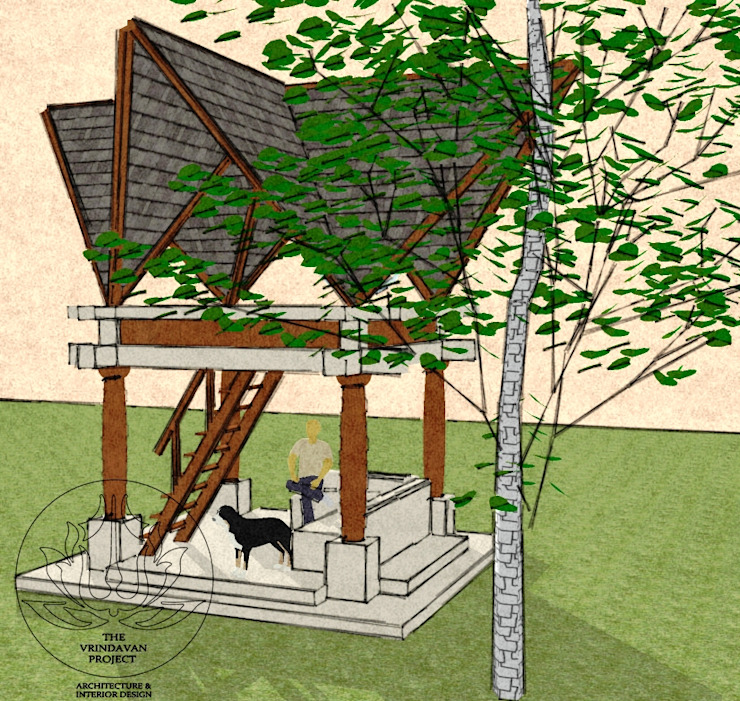 Tree House Design Eclectic style houses by The Vrindavan Project Eclectic