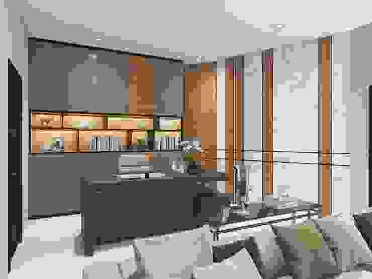 ผลงานการออกแบบ3D บ้านคุณกอล์ฟ โดย One touch design & decore