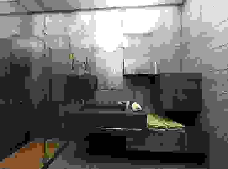 VİLLA WOX Modern Banyo Gökhan BAYUR Modern