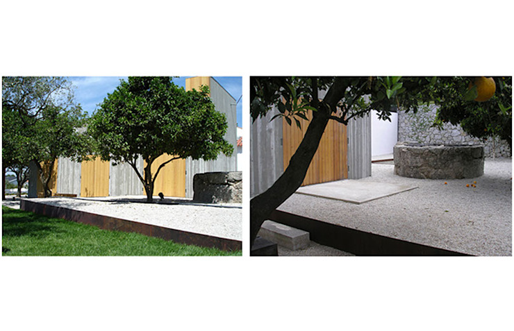 House at Chamusca da Beira, Portugal by Margem Arquitectura Paisagista Lda Еклектичний