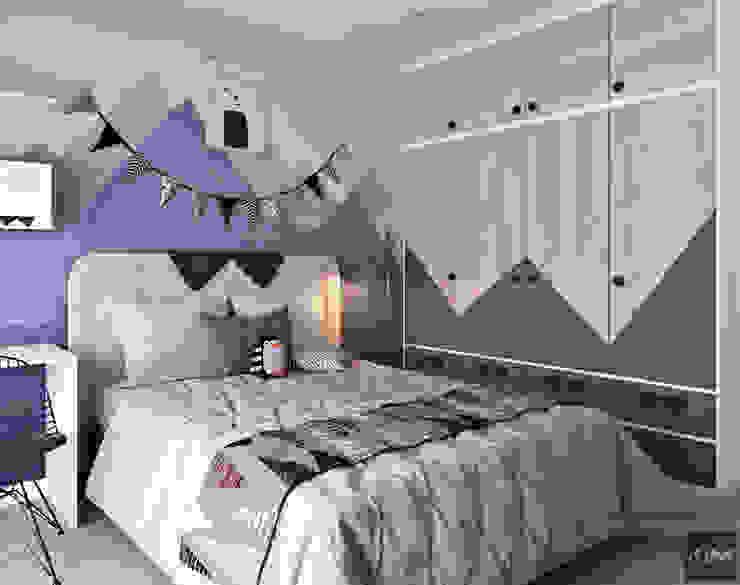 Dự án Vinhomes Central Park Phòng trẻ em phong cách hiện đại bởi KIM - furniture Hiện đại