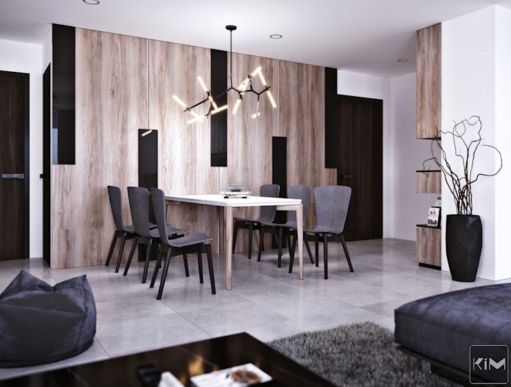 Modern Dining Room by KIM - furniture Modern